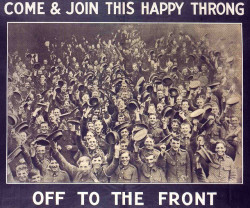 dergrossekrieg:  A poster distributed in Ireland to encourage enlistees for the war effort, circa 1915.  (by Bart King)