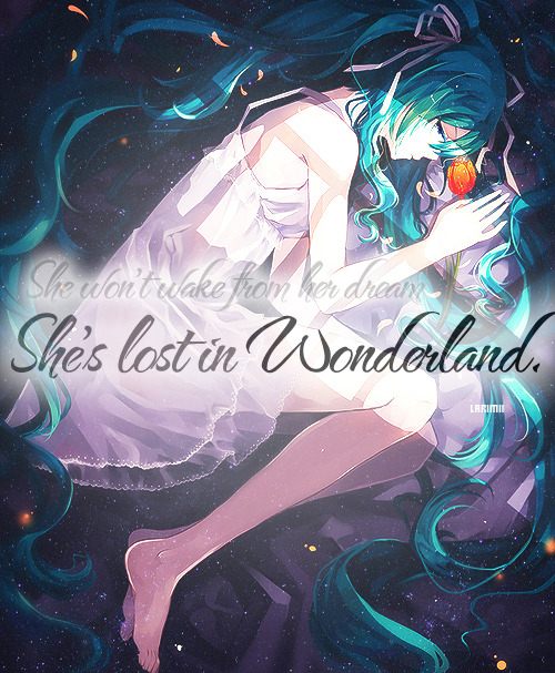 larimii:  She's Lost in wonderland ⋯  ♨by  ⋯ ♨ Edit