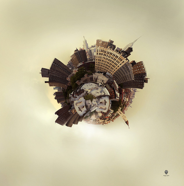 | ♕ |  Planet East Village - stereographic NYC  | by © Jens Karlsson