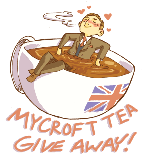 "ihavebeensherlocked:  Time for Week Two of Fandom Tea Blends Giveaways! This week's tea blend is one of the most popular and perfect for desert tea lovers! Read below for more reviews/information on the tea, and how to win your own bag of it, as well as an ingenuiTEA tea pot!  THE MYCROFT BLEND: No brother, I have not been eating more cake. I've been drinking it. (chocolate chip, rooibos vanilla chai, cream) MY REVIEW OF IT: ""The smell of this tea in the bag reminds me strongly of Pfeffernusse, those German Pepper cookies you get at Christmas. Mostly spice, but coated with chocolate on the bottom. Sweet, wonderful nostalgia. I could cry. And oh my god it even tastes like that brewed up. I'm sort of amazed right now. I was trying to blend a tea that would be reminiscent of a piece of chocolate cake but I'm so happy with what I got. The tea is a little bit bitter on it's own, but again, it reminds me of spice cookies. The chocolate taste is really nice and mellow, but the spices aren't too strong either. It all just works really well together. I actually like it just fine on it's own, but adding a little cream and sugar makes this tea feel decadent. Definitely a Mycroft tea."" WHAT OTHERS ARE SAYING: ""A very smooth and sweet taste which makes it a good tea to have in the evening with dessert. Smells amazing and goes well with a little milk and sugar.""-Holly C. ""This tea really does taste like I'm drinking a cake, whether or not sweetener is added. It's a wonderful chai blend.""-Yulia S. "" This is…MOTHER OF GOD. Once you go Mycroft, you cannot go back apparently. I literally drink four cups a night while working on my thesis. Just….fabulous. It's perfectly toasty and lightly sweet and best done with just a splash of cream.""-Beth P. ""This blend smells, tastes and feels decadent and amazing. The mix of chocolate and vanilla chai makes it a lovely dessert tea. A perfect representation of Mycroft Holmes as a character.""-Arizona D. ""This blend smells amazing. I seriously wanted to stick my whole face in the bag. It has a light vanilla/chai flavor that goes very well with a bit of cream.""-Nikki N.  HOW TO WIN:  You may reblog this post ONCE a day for the next week. I'll go through the notes and use a random number generator to chose a winner the evening of MARCH 24th You have to reblog! Likes wont count! Due to customs, people in Australia and New Zealand are not eligible just because we can't ship tea there Q_Q I'm sorry! Just to clarify: The prize this week is The Mycroft Blend as well as an IngenuiTEA Tea Pot."