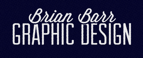 check out my personal graphic design tumblr: http://brianbarrgraphicdesign.tumblr.com