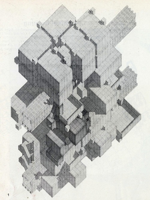 drawingarchitecture:  McNab Gage Potts Pollock 1967