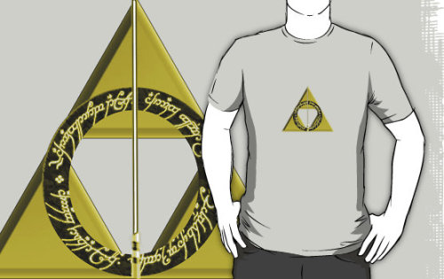 """The Geekly Hallows"" T-Shirts & Hoodies by vintageham 