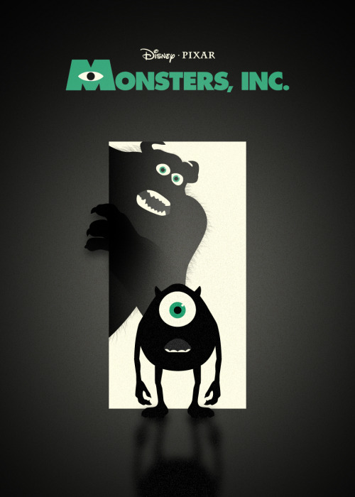 Monsters Inc by Bruce Yan