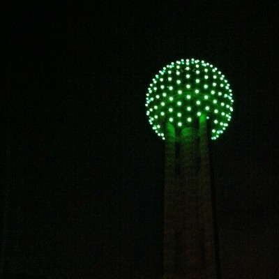 Happy St Paddy's day y'all! #dallas #texas (Taken with Instagram at Reunion Tower)