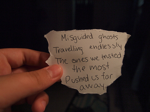 """Misguided Ghosts,"" Paramore"