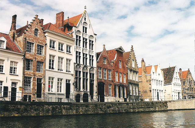 | ♕ |  Canal houses - Bruges, Belgium  | by © sf eric | via ysvoice