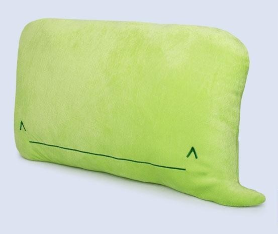 iPhone Whale Emoticon Throw Pillow (vía Times New Geek)