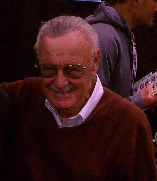 jesus-h-devil:  I saw Stan Lee today. That man is like my other dad.  Stan Lee