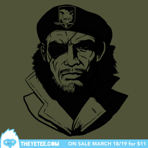 theyetee:  El Gran Jefe by Ryan Haak Snake? Snake?! SNAAAAA- Oh, there you are.             Only $11 - March 18/19 at The Yetee.com             Make sure you swing by our Facebook page to enter to win a free shirt!