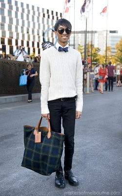 Me arriving at Alex Perry Autumn//Winter 2012L'Oréal Melbourne Fashion FestivalPhotographed by Kirsty Umback for Makers of Melbourne