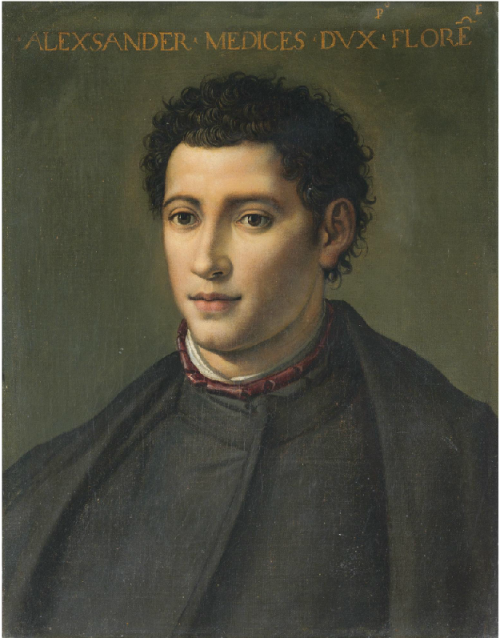 Portrait of Alessandro de' Medici (Il Moro), Duke of Florence and Penne, late 16th or early 17th century