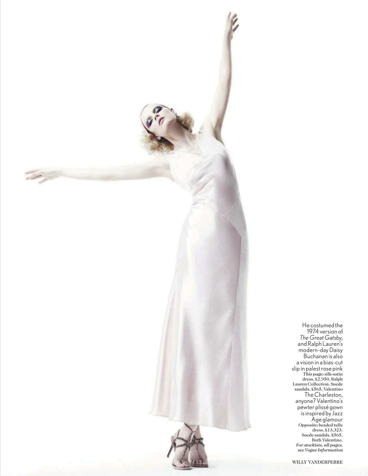 Guinevere van Seenus photographed by Willy Vanderperre for Vogue UK, April 2012