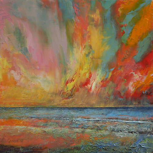 "creese:  ""Hidden Heart Lava Sky"" by Michael Creese 