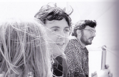 Linda, Paul and Ivan Vaughan on the Santa Catalina trip in June 1968. Photo by Tony Bramwell