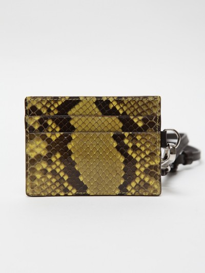 【JIL SANDER 2012 SPRING/SUMMER PYTHON CARD HOLDER】 OKI-NI 有售