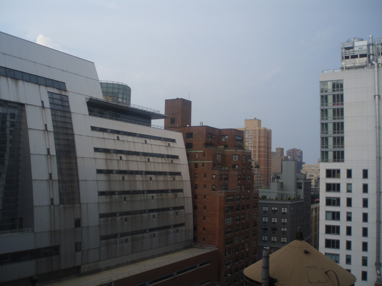 View from the apartment window, New York, Summer 2010