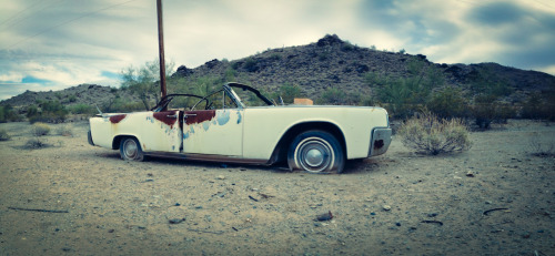 Abandoned Car in Phoenix
