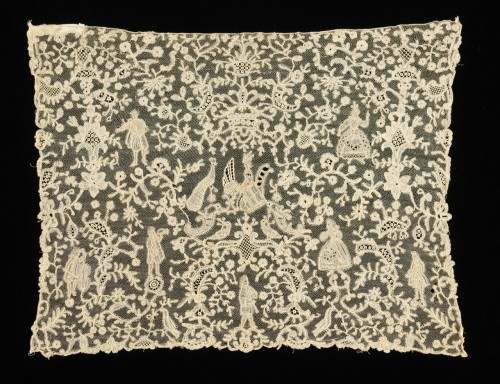 Flemish Lace Jabot End 1720-1740 The Metropolitan Museum of Art