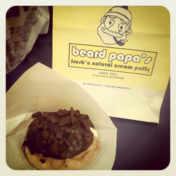 Taken with Instagram at Beard Papa's SM Annex
