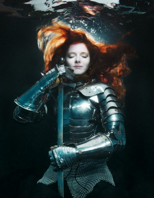 for-redheads:  Brenda Stumpf - Underwater Series - Joan of Arc.
