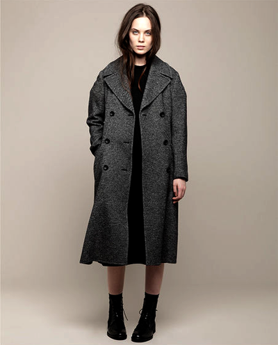 United Bamboo / Tweed Trench Coat CUB162FW11$955.00 $477.50  (pic ref) (coat)