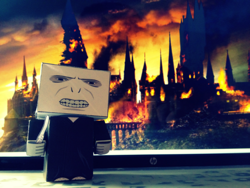 I heard you hate Lord Voldemort.