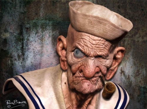 If Popeye was real