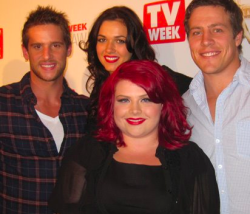 2012 TV WEEK LOGIES NOMINATIONS SPECIAL - DAN EWING, DEMI HARMAN, MELISSA BERGLAND & STEVE PEACOCKE (HOME & AWAY AND WINNERS & LOSERS) The TV Week Logie Awards are the annual event that celebrate and embrace the diversity of the Australian television industry. The nominations for the 2012 Logies were announced in Sydney today and here is all of the scoop for YOUR viewing pleasure! DAN EWING NOMINATED FOR: MOST POPULAR NEW MALE TALENT DEMI HARMAN NOMINATED FOR: MOST POPULAR NEW FEMALE TALENT MELISSA BERGLAND NOMINATED FOR: MOST POPULAR NEW FEMALE TALENT & GRAHAM KENNEDY AWARD FOR MOST OUTSTANDING NEW TALENT STEVE PEACOCKE NOMINATED FOR: MOST POPULAR NEW MALE TALENT Image Source: Yahoo!7