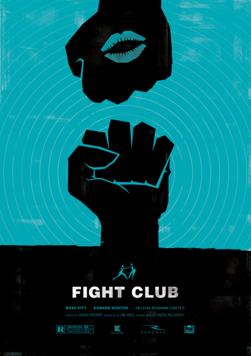 Fight Club by Dee Choi Society6, Tumblr, Twitter.