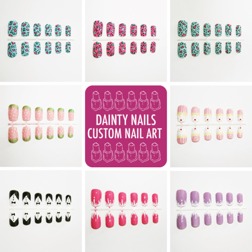 Happy Mother's Day to all the lovely Mum's out there!Dainty Nails specialise in hand painted false nails and have many cute designs such as cats, leopard print, cupcakes and paw prints for just £5 each. As a special treat we're offering 25% off all orders using the code 'M25' for today only! www.dainty-nails.co.uk