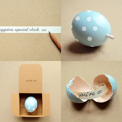 prettylittlepieces:  DIY Message Eggs