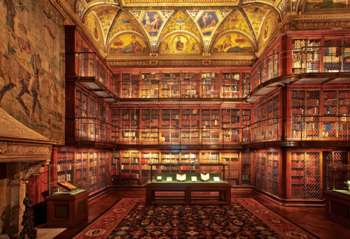 enochliew:  The Morgan Library & Museum Personally wired by Thomas Edison, J. Pierpont Morgan's home was the first electrified residence in New York. A recent LED retrofit delivers the library into a new age.