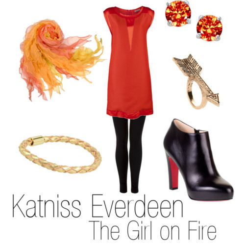 Katniss Everdeen - The Girl on Fire