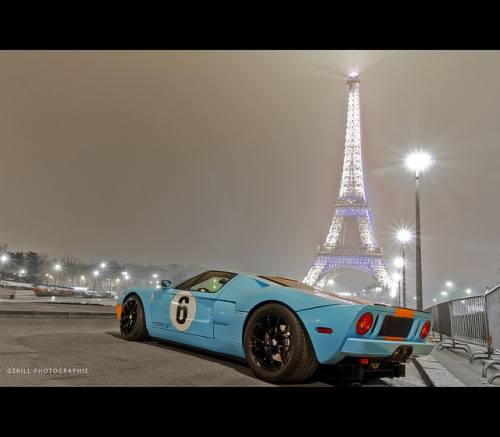 yrys-automotive:  Ford GT Heritage @ Trocadero by Gskill photographie on Flickr.