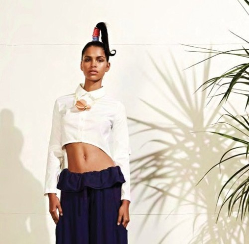 "NY based William Okpo Sping/Summer 2012 collection is inspired by ""CrazySexyCool"" TLC's album.  Take a look at www.wiliamokpo.com"