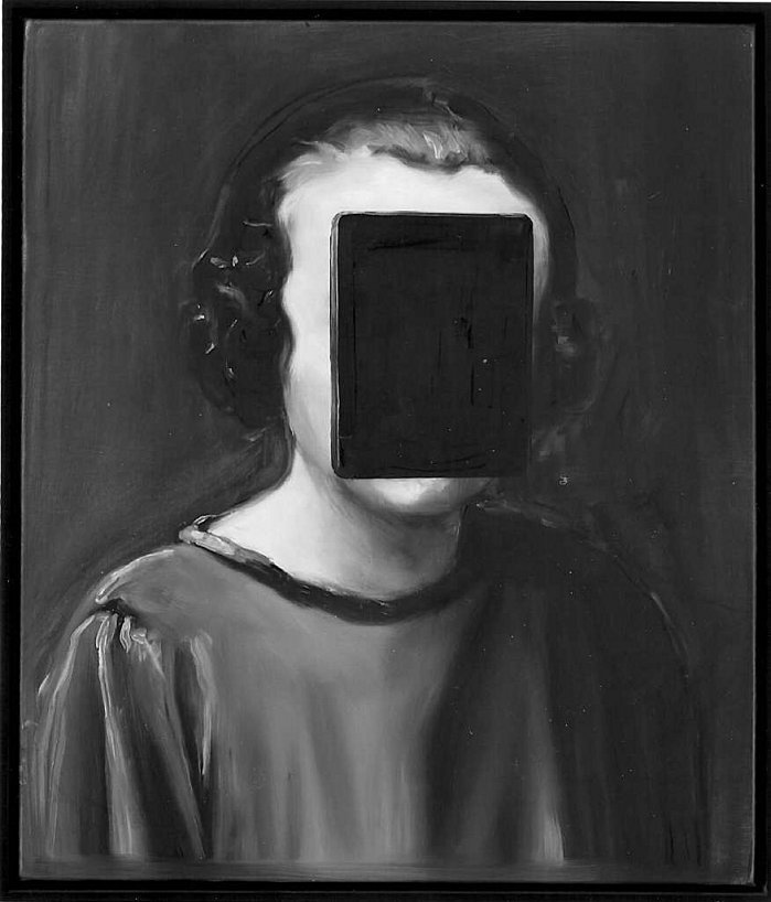 Michaël Borremans.  http://www.davidzwirner.com/artists/michael-borremans/