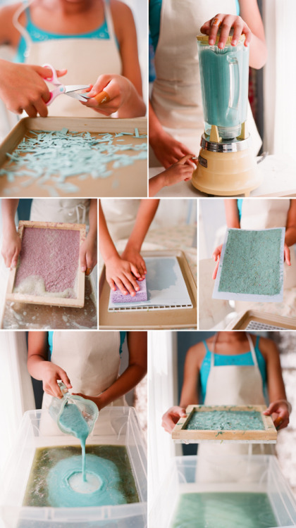 artpixie:  Handmade Paper by Kiss the Groom