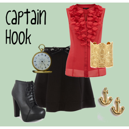 Captain Hook by jessb93 featuring kate spade jewelry