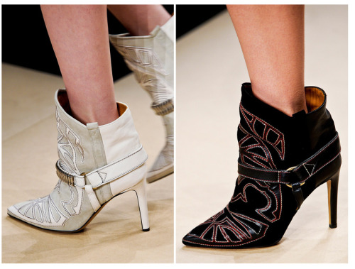 S**t Kickers: Isabel Marant Fall 2012 (source: Sea Of Shoes)
