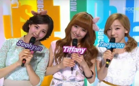 Seohyun on MBC Music Core 3/17/2012