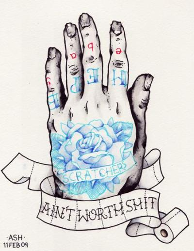 ashmadethis:  tattoosforpassionnotfashion:  done by ash davies   Still true.