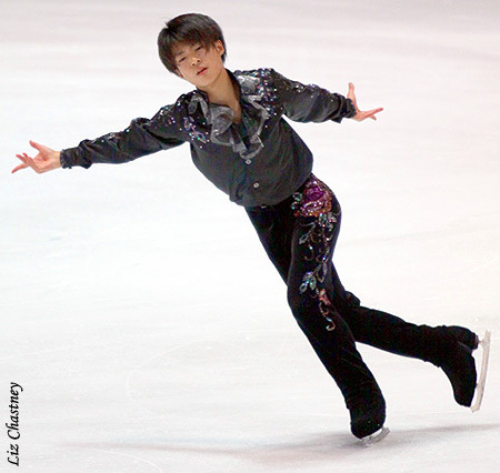Tatsuki Machida skating to Dark Eyes for his short program at the 2010 Nebelhorn Trophy.