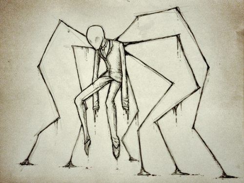 artisonmyside:  A Very Slender Man by ~Eighth-Reaper