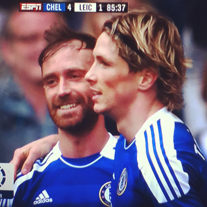 I'm so happy for him, finally it looks like the old Torres has flourished again. Great game, Great player!