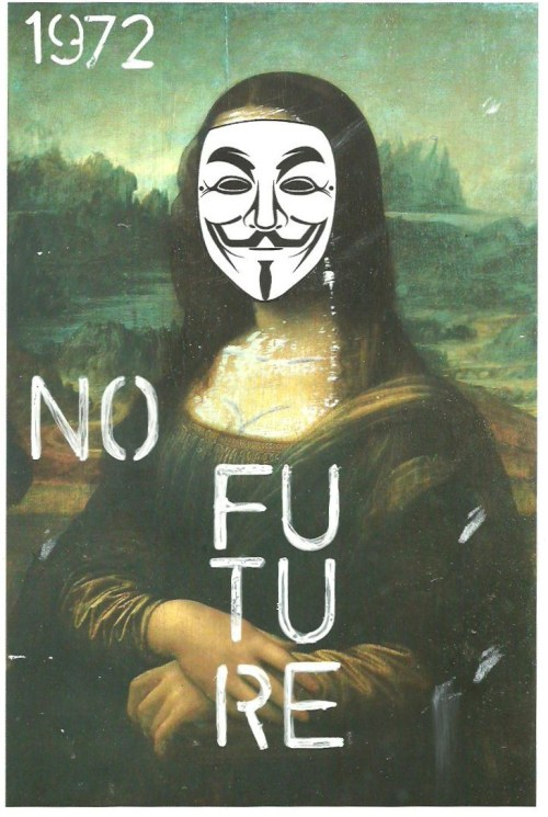 No Future More Artworks In: http://www.facebook.com/Roberta.Marrero.Art WWW.IAMGOD.EU