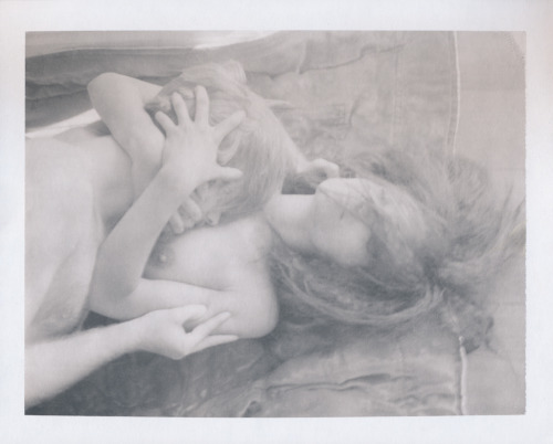 fedalove:   Possession ~ Models Andre & TulleeExpired Polaroid 667 Copyright 2012 Joanne Leah