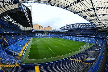 Stamford Bridge, home of Chelsea Football club