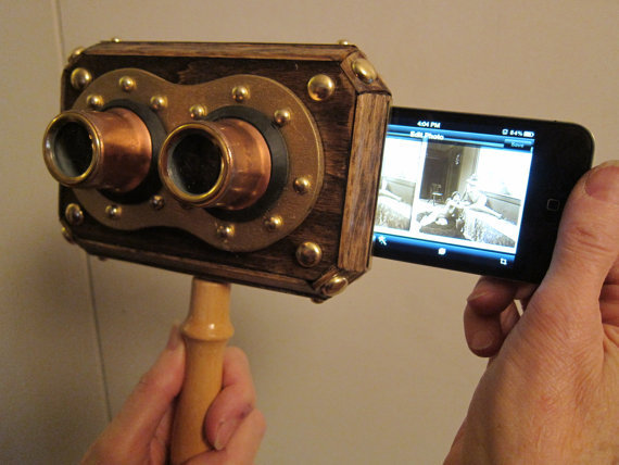 iPhone Stereoscope