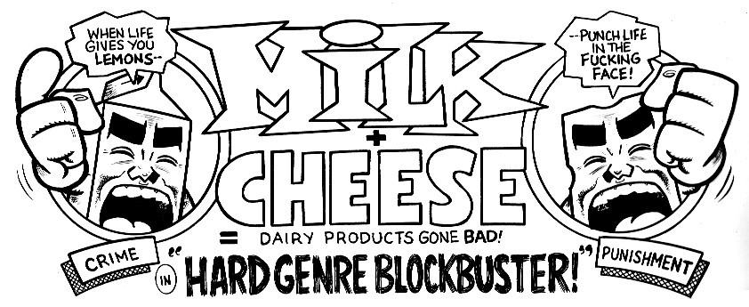 Via Evan Dorkin's blog, a bit of Milk and Cheese that will appear in DHP #12. This makes me happy.
